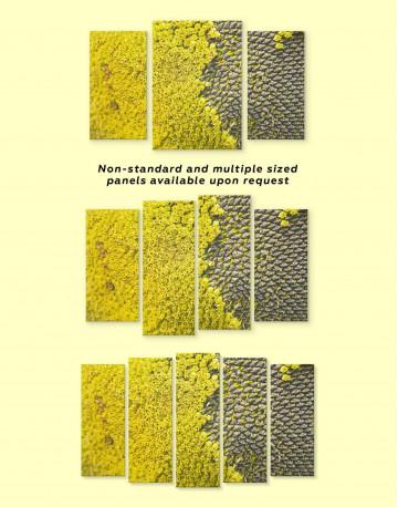 Yellow Sunflower Canvas Wall Art - image 3