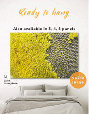 Yellow Sunflower Canvas Wall Art - Image 0