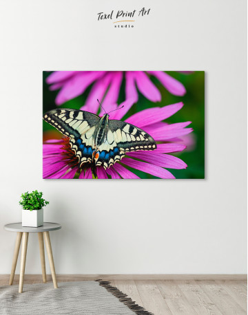 Old World Swallowtail Butterfly Canvas Wall Art - image 3