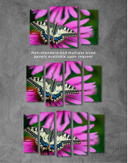 Old World Swallowtail Butterfly Canvas Wall Art - Image 6