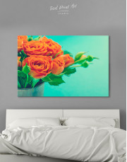 Lovely Roses Canvas Wall Art