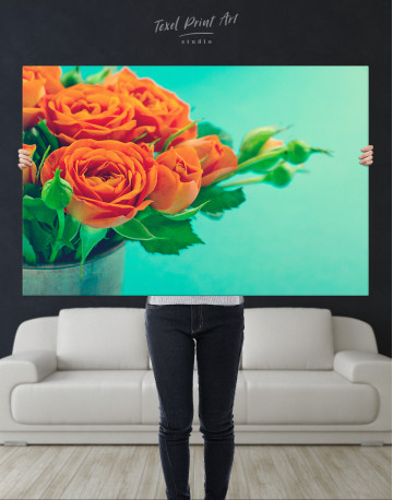 Lovely Roses Canvas Wall Art - image 2