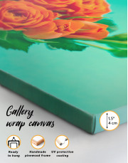 Lovely Roses Canvas Wall Art - Image 4