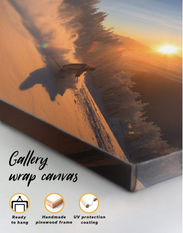 Snowboarder Canvas Wall Art - image 1