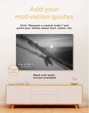 Snowboarder Canvas Wall Art - image 4