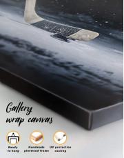 Hockey Stick Canvas Wall Art - Image 4