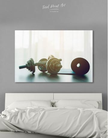 Sports Dumbbells Canvas Wall Art - image 7