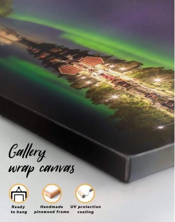Aurora Borealis View Canvas Wall Art - image 4