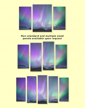 Northern Lights View Canvas Wall Art - image 2