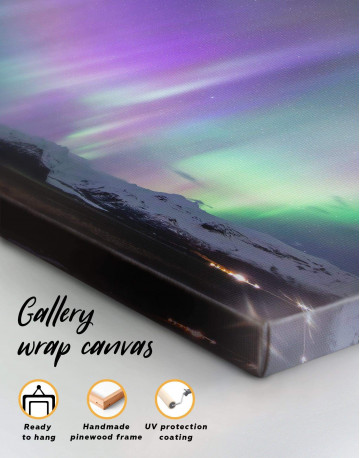 Northern Lights View Canvas Wall Art - image 4