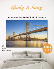 San Francisco Skyline Canvas Wall Art - Image 0