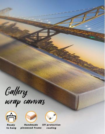 San Francisco Skyline Canvas Wall Art - image 4