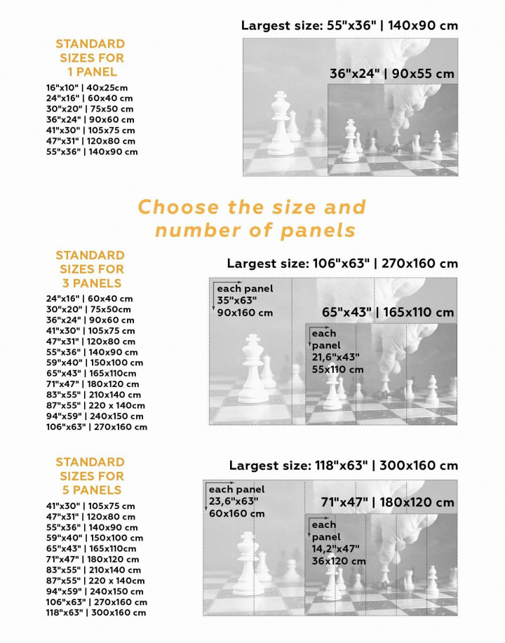 Chess Game Canvas Wall Art - Image 3