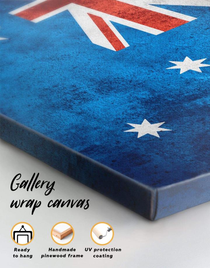Flag of Australia Canvas Wall Art - Image 5