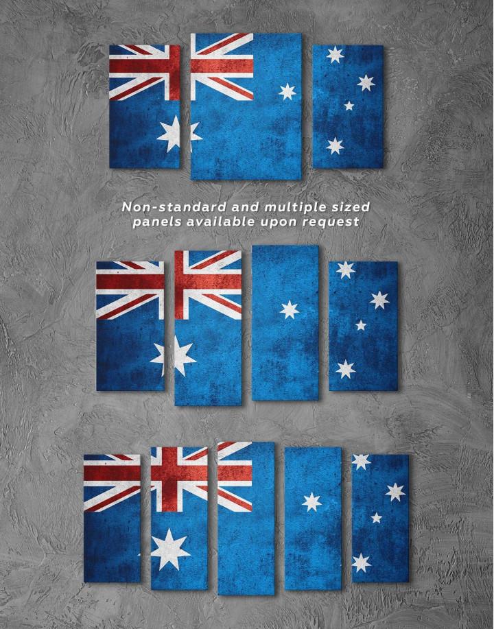 Flag of Australia Canvas Wall Art - Image 2