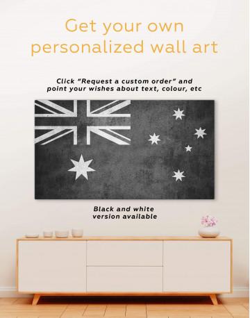 Flag of Australia Canvas Wall Art - image 1