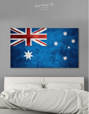 Flag of Australia Canvas Wall Art - image 6