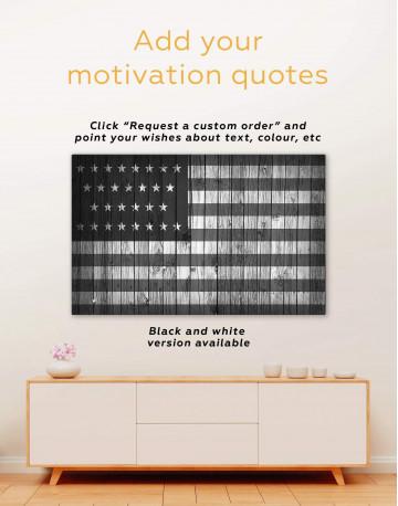 Flag of the USA Canvas Wall Art - image 6
