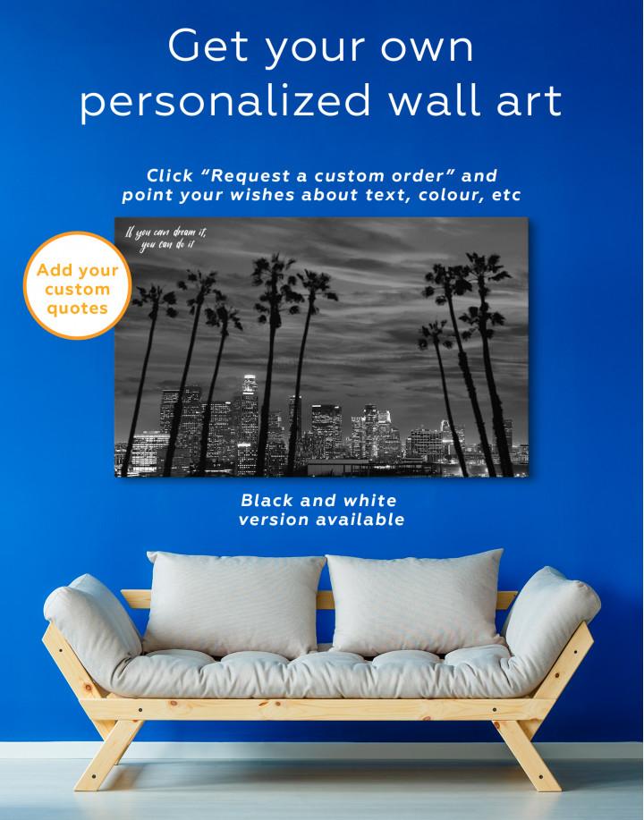Night Miami Canvas Wall Art - Image 5