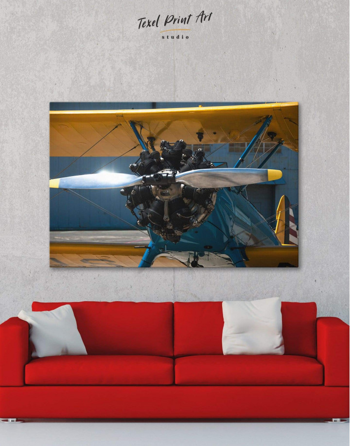 Jet Plane Canvas Wall Art - Image 0