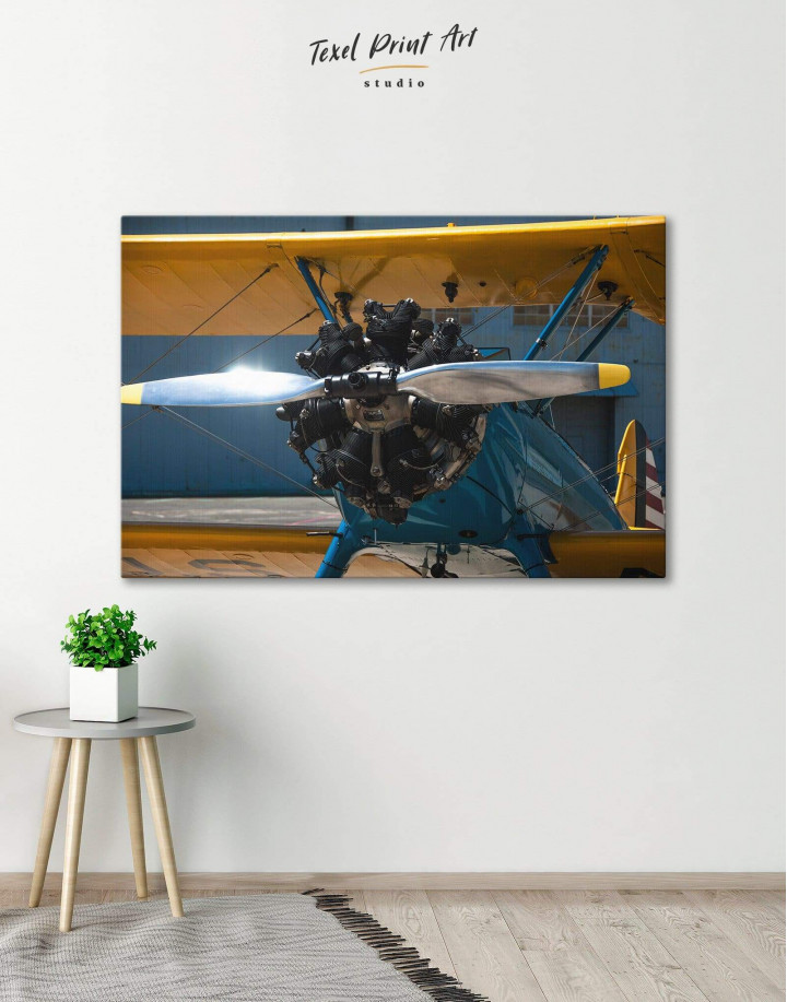 Jet Plane Canvas Wall Art - Image 6
