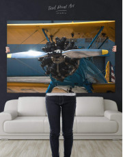 Jet Plane Canvas Wall Art - Image 5