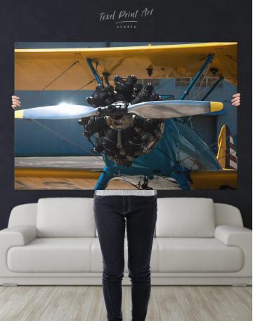 Jet Plane Canvas Wall Art - image 5