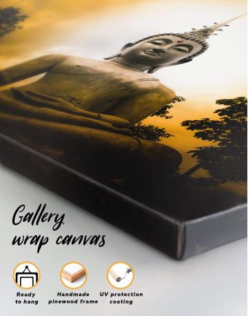 Buddha Spiritual Canvas Wall Art - image 4