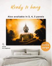 Buddha Spiritual Canvas Wall Art - Image 6