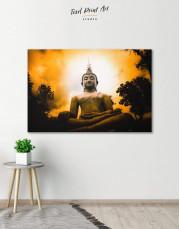 Buddha Spiritual Canvas Wall Art - Image 0