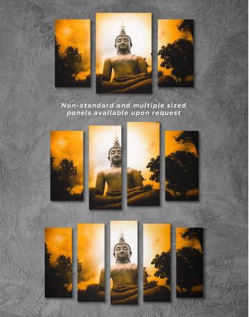 Buddha Spiritual Canvas Wall Art - image 2