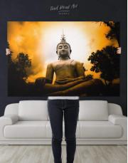 Buddha Spiritual Canvas Wall Art - Image 5