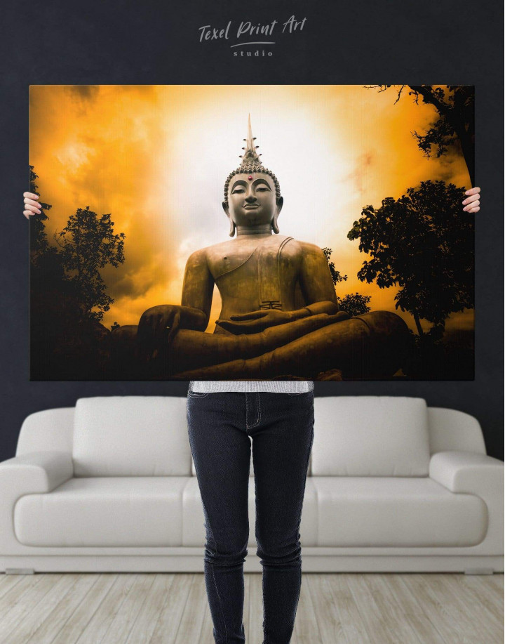 Buddha Spiritual Canvas Wall Art - Image 5