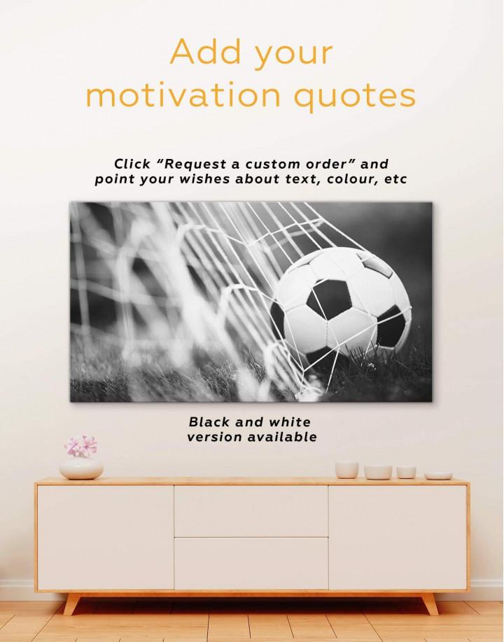 Football Match Canvas Wall Art - Image 1
