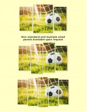 Football Game Canvas Wall Art - Image 1