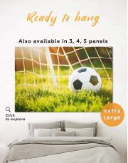 Football Game Canvas Wall Art - Image 0