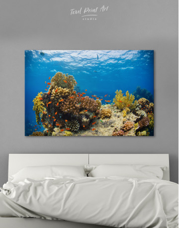 Underwater Coral Canvas Wall Art - image 2