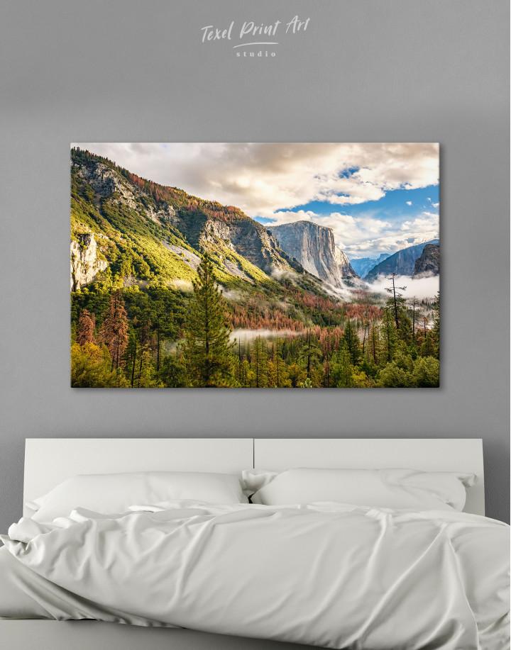 Yosemite National Park Landscape Canvas Wall Art