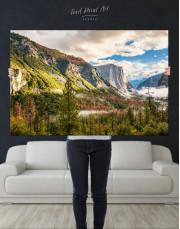 Yosemite National Park Landscape Canvas Wall Art - Image 7