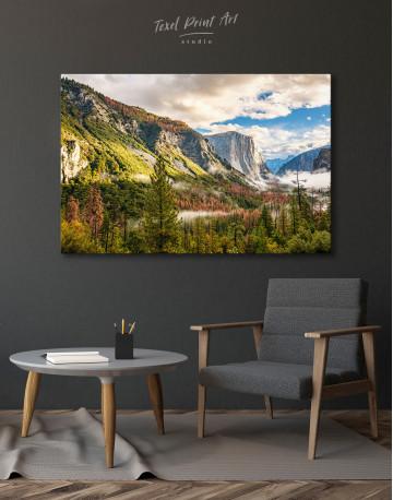 Yosemite National Park Landscape Canvas Wall Art - image 2