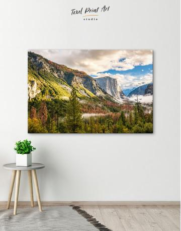Yosemite National Park Landscape Canvas Wall Art - image 1