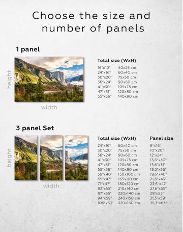 Yosemite National Park Landscape Canvas Wall Art - image 8