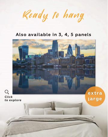 London Cityscape Canvas Wall Art