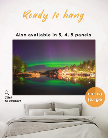 The Northern Lights Canvas Wall Art
