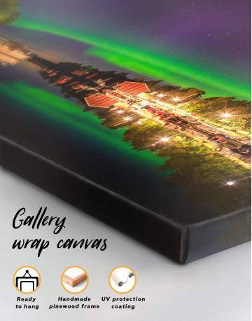The Northern Lights Canvas Wall Art - image 1