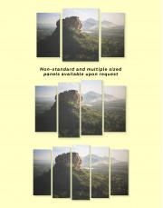 Pidurangala Rock Landscape Canvas Wall Art - Image 3