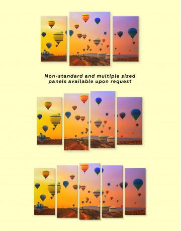 Cappadocia Air Balloons Canvas Wall Art - image 1