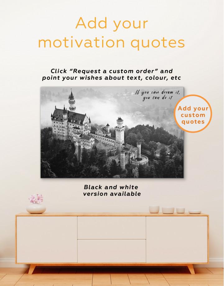 Neuschwanstein Castle Canvas Wall Art - Image 2