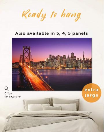 San Francisco Golden Gate Bridge Canvas Wall Art