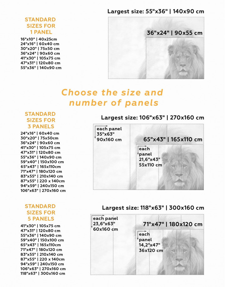 King of Jungle Lion Canvas Wall Art - Image 1
